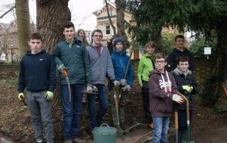 DofE Students Group Photo