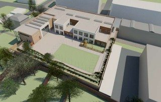 Aerial View Proposed Deer Park Primary School