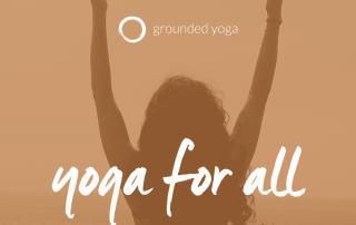 grounded yoga image